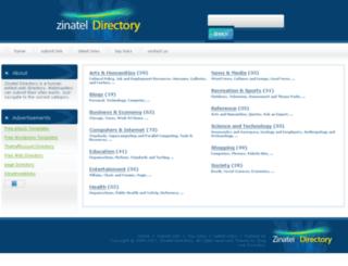 zinatel.com screenshot