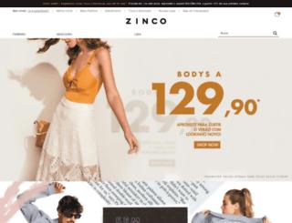 zinco.com.br screenshot
