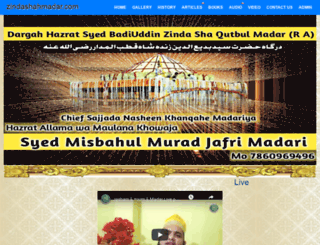 zindashahmadar.com screenshot
