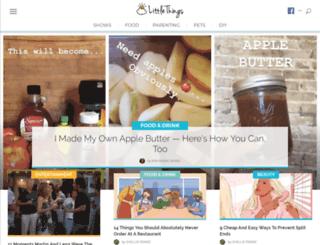 zindler.littlethings.com screenshot