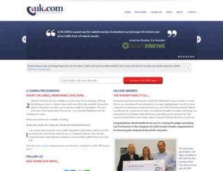 zine.uk.com screenshot