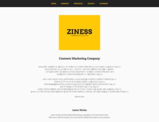 ziness.com screenshot