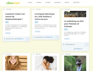 zinezaz.com screenshot