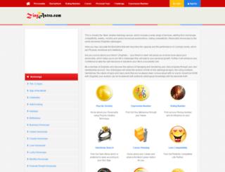 zingastro.com screenshot