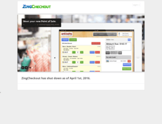 zingcheckout.com screenshot