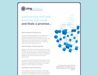 zinginfotech.com screenshot