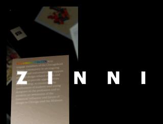 zinnidesign.com screenshot