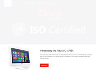 zinoxtechnologies.com screenshot