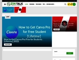 zintalk.com screenshot