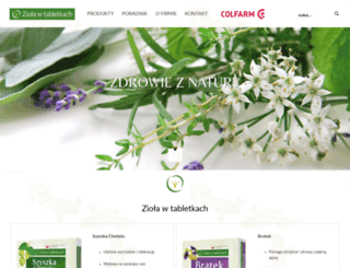 ziolawtabletkach.pl screenshot