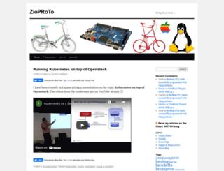 zioproto.ninux.org screenshot