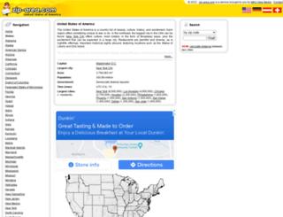 zip-area.com screenshot
