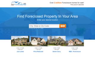 zip-foreclosurefinder.com screenshot