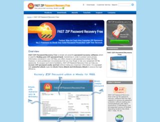 zip-password-recovery.com screenshot