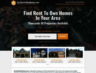 zip-renttoownhomes.com screenshot