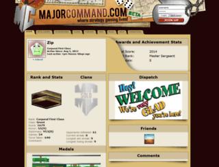 zip.majorcommand.com screenshot