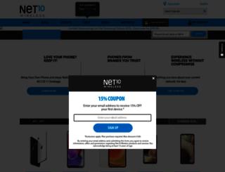 zip.net10wireless.com screenshot