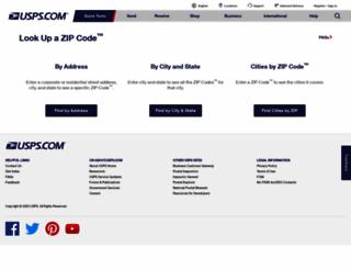 zip4.usps.com screenshot