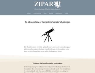 zipar.org screenshot
