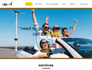 zipcabs.net screenshot