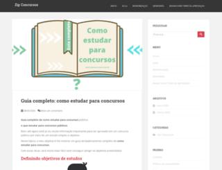zipconcursos.com.br screenshot