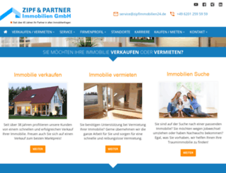 zipf-immobilien24.de screenshot