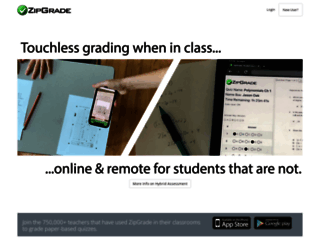 zipgrade.com screenshot