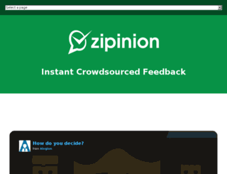 zipinion.com screenshot