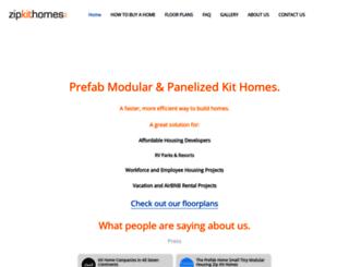 zipkithomes.com screenshot
