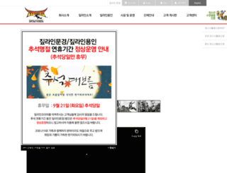 ziplineyongin.co.kr screenshot