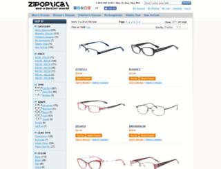 zipoptical.com screenshot