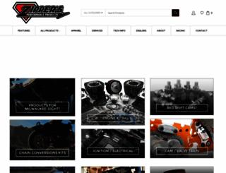 zippersperformance.com screenshot