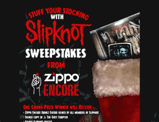 zipposlipknotstockingsweeps.hscampaigns.com screenshot