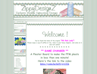 zippydesignz.com screenshot