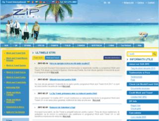 ziptravel.ro screenshot