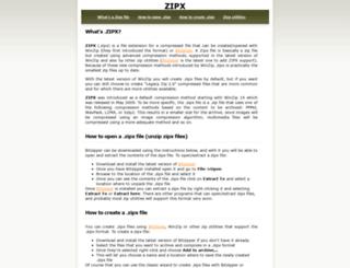 zipxfile.com screenshot