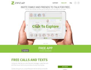zipzap.com screenshot
