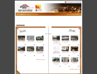 ziquiimoveis.com.br screenshot