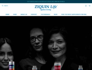ziquin.com screenshot