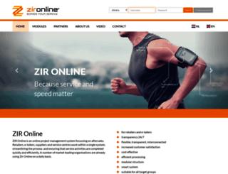 zir-online.com screenshot
