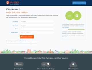 zirovka.com screenshot