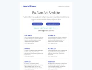 zirvetatil.com screenshot
