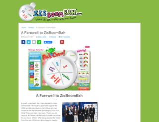 zisboombah.com screenshot