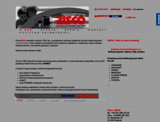 zisco.pl screenshot