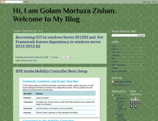 zishan-mortuza.blogspot.com screenshot