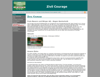 zivilcourage.ro screenshot
