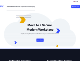zixcorp.com screenshot