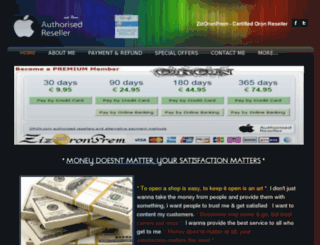 zizoronprem.com screenshot