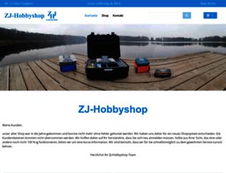 zj-hobbyshop.de screenshot