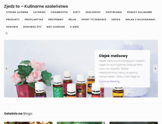zjedzto.pl screenshot